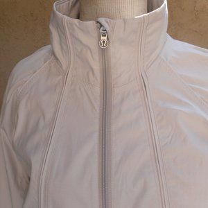 lululemon athletica Jackets & Coats - LULULEMON ~ TRAVEL to TRACK JACKET ~ 6 ~ METALLIC
